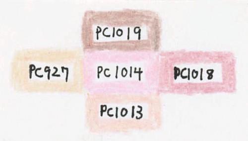 PC1014 Deco Pinkと似ている色
