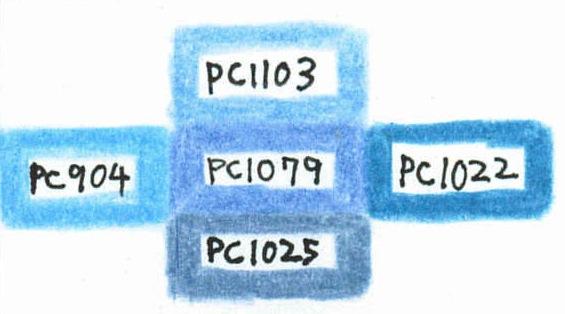PC1079 似た色比較